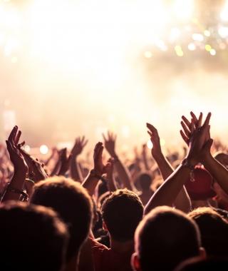 Foule pendant un concert © istock.com