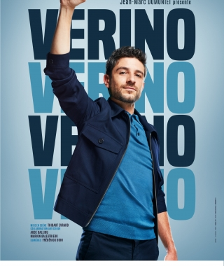 "Affiche du One man show ""Verino"" © Pascal ITO"