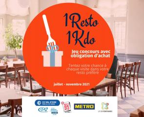 Opération ''1 Resto, 1 Kdo''