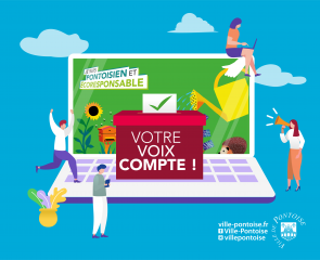 Pontoisien & Ecoresponsable : je vote !