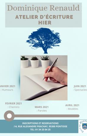 Hier. Atelier d'écriture autobiographique 2021