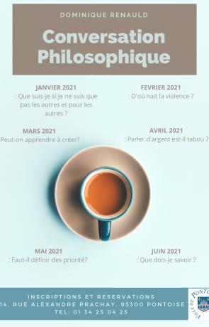 Ateliers de conversation philosophique 2021