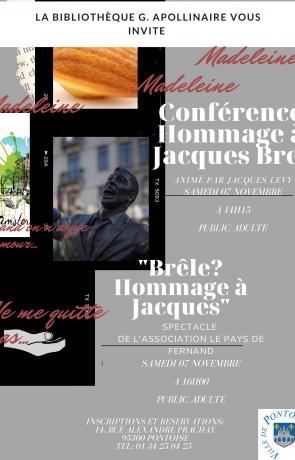 Conférence autour de Jacques Brel