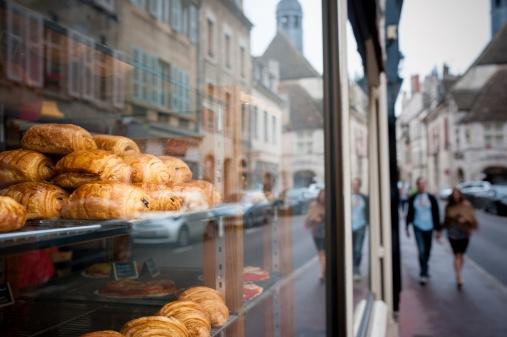 Vitrine de boulangerie