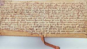 Le document le plus ancien datant de 1261