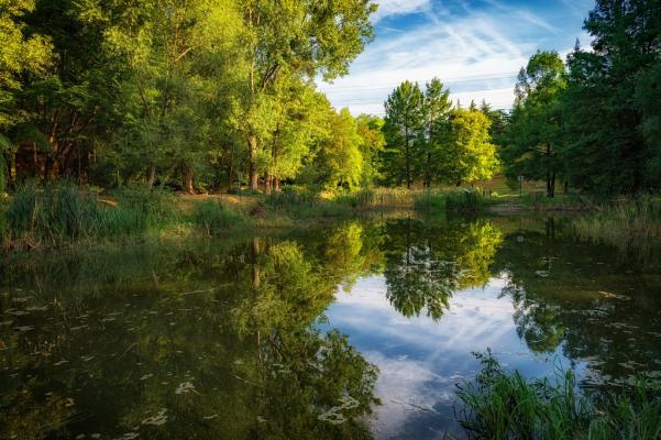 Le Parc des Larris ©Gilbert Perreau