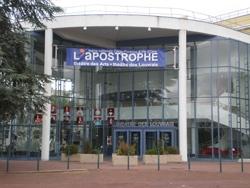 L'Apostrophe, théâtre des Louvrais