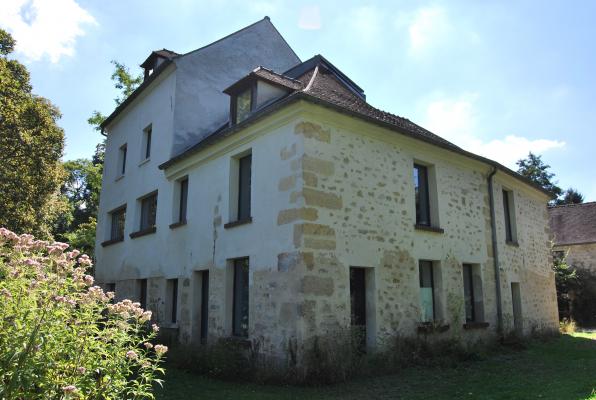 Le moulin Cézanne et son jardin écologiste