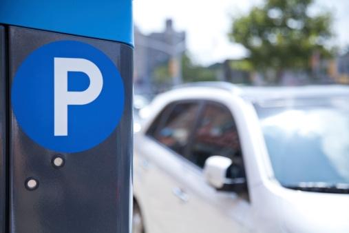 Photo d'un parking