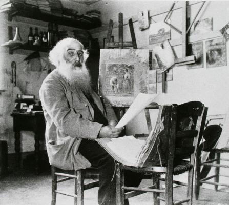 Visite guidée : Sur les traces de Pissarro, Cézanne, Gauguin.....