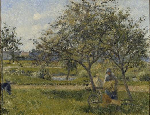 """Camille Pissarro, """"La brouette"""", collections du musée d'Orsay"""