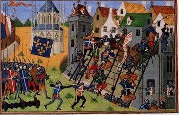 Fresque de l'histoire de Pontoise