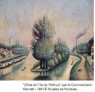 L'Oise et l'île de Pothuis
