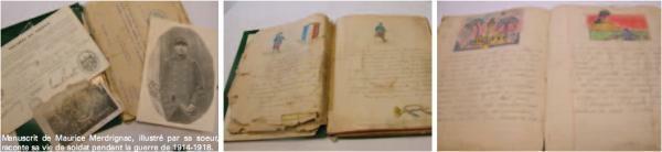 Manuscrit de Maurice Merdrignac
