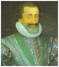 Portrait d'Henri IV (1553- 1610) - DR