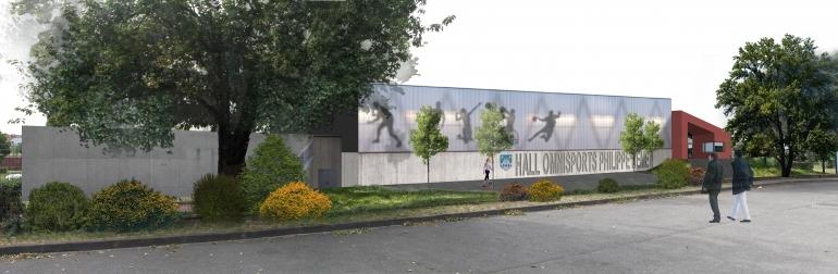 Hall omnisports Philippe-Hémet
