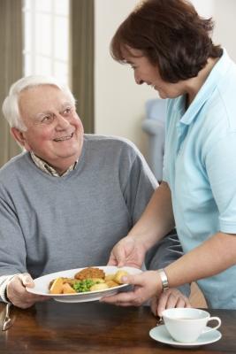Repas donné à un Senior pour une aide