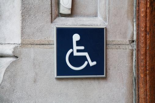 Signalétique d'accessibilité