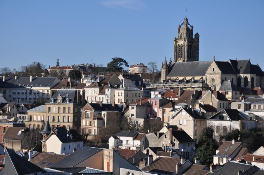 Pontoise en images pontoise for Piscine rue de pontoise
