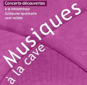 """Affiche de """"Musiques à la cave"""""""