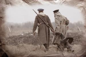 Photo à l'époque de guerre 14-18
