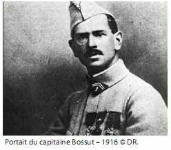 Portrait du capitaine Bossut