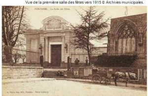 Première salle des fête vers 1915