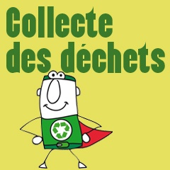 Le visuel de la collecte des déchets