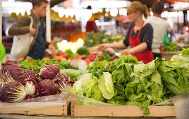 Les marchés alimentaires
