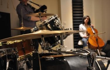 Photo du groupe en répétition © DR