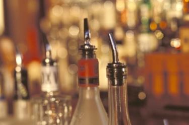 Un débit de boissons