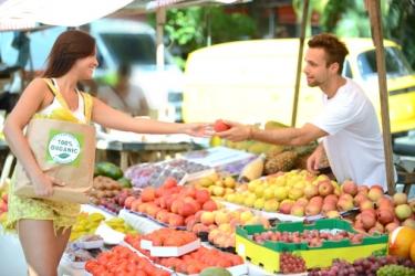 Vente sur une marché