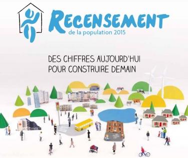 Affiche du recensement