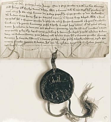Sceau de 1257