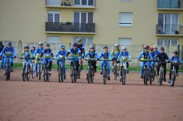 Ecole de vélo de l'ECOP Cyclisme © DR