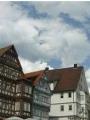 Vue du centre-ville de Böblingen et de l'église Dyonisius. © DR