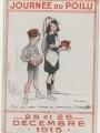 Affiche de la Journée du Poilu (Musée de l'Education de Saint-Ouen-l'Aumône)