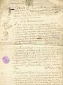 Compte-rendu de l'argentier Gabriel CHEVALIER, 1630