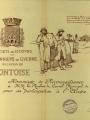 Carte conçue par la Société de Secours aux Prisonniers de Guerre du Canton de Pontoise