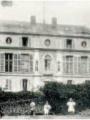 Château de Marcouville - Façade Est. 1944. © Cliché Godefroy