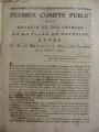 Premier compte public Pontoise 1790