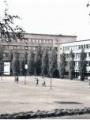 Cour du lycée Pissatro début des années 60