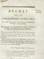 Décret de la Convention nationale, page 1