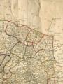 Carte des départements en 1790, Nord-est