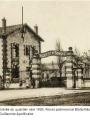 Entrée du quartier Bossut vers 1930