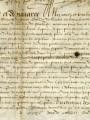 Lettres patentes - Archives Municipales de Pontoise, cote AA3