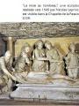 """Sculpture """"La mise au tombeau"""""""
