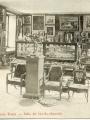 Carte postale illustrant le rez-de-chaussée du musée Tavet en 1914