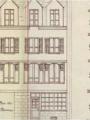 Plan d'élévation de la Maison-Pont*, 1 902, Archives municipales