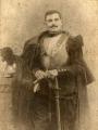 Portrait de Paul Eugène-Paquis (1888-1970), soldat au 9ème cuirassiers et ancien cantonnier à Pontoise